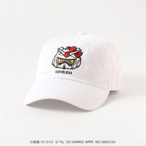 【LOVELESS×ガンダム&ハローキティ プロジェクト】ガンダム★ハローキティ コラボキャップ