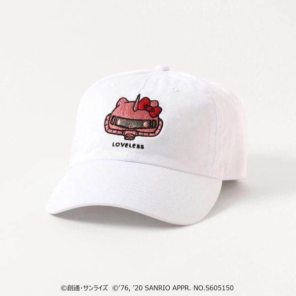 【LOVELESS×ガンダム&ハローキティ プロジェクト】シャア専用ザクII★ハローキティ コラボキャップ