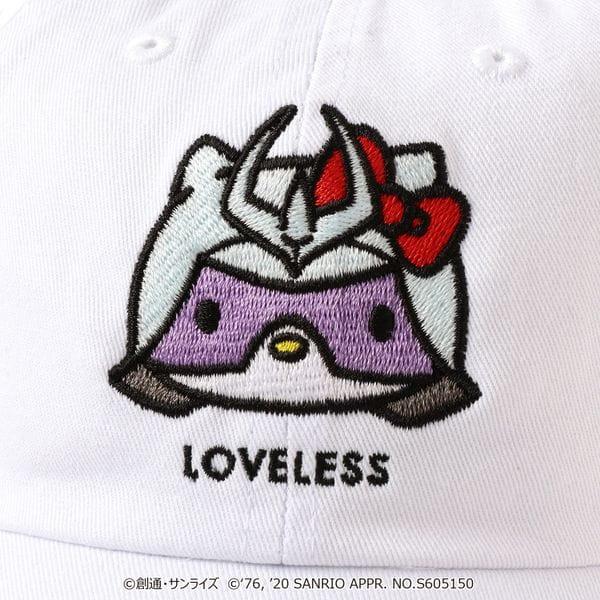 【LOVELESS×ガンダム&ハローキティ プロジェクト】シャア★ハローキティ コラボキャップ