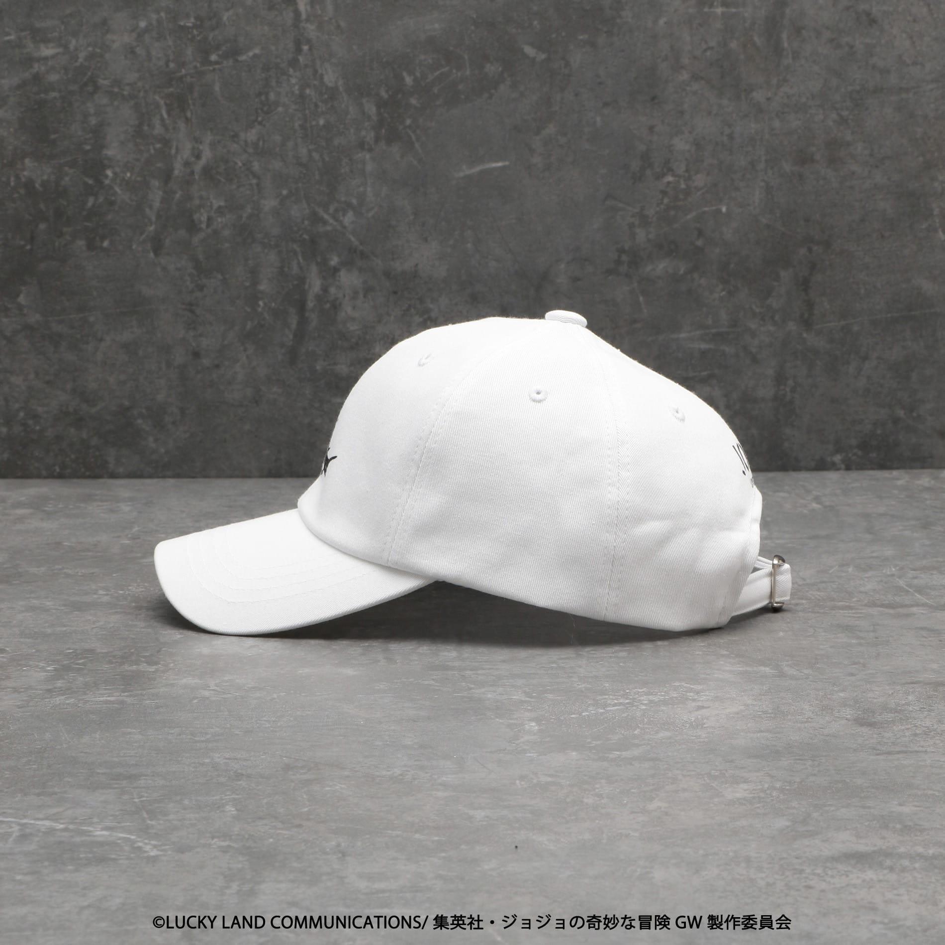 MEN Narancia Ghirgaコラボキャップ(LOVELESSxジョジョの奇妙な冒険 黄金の風)
