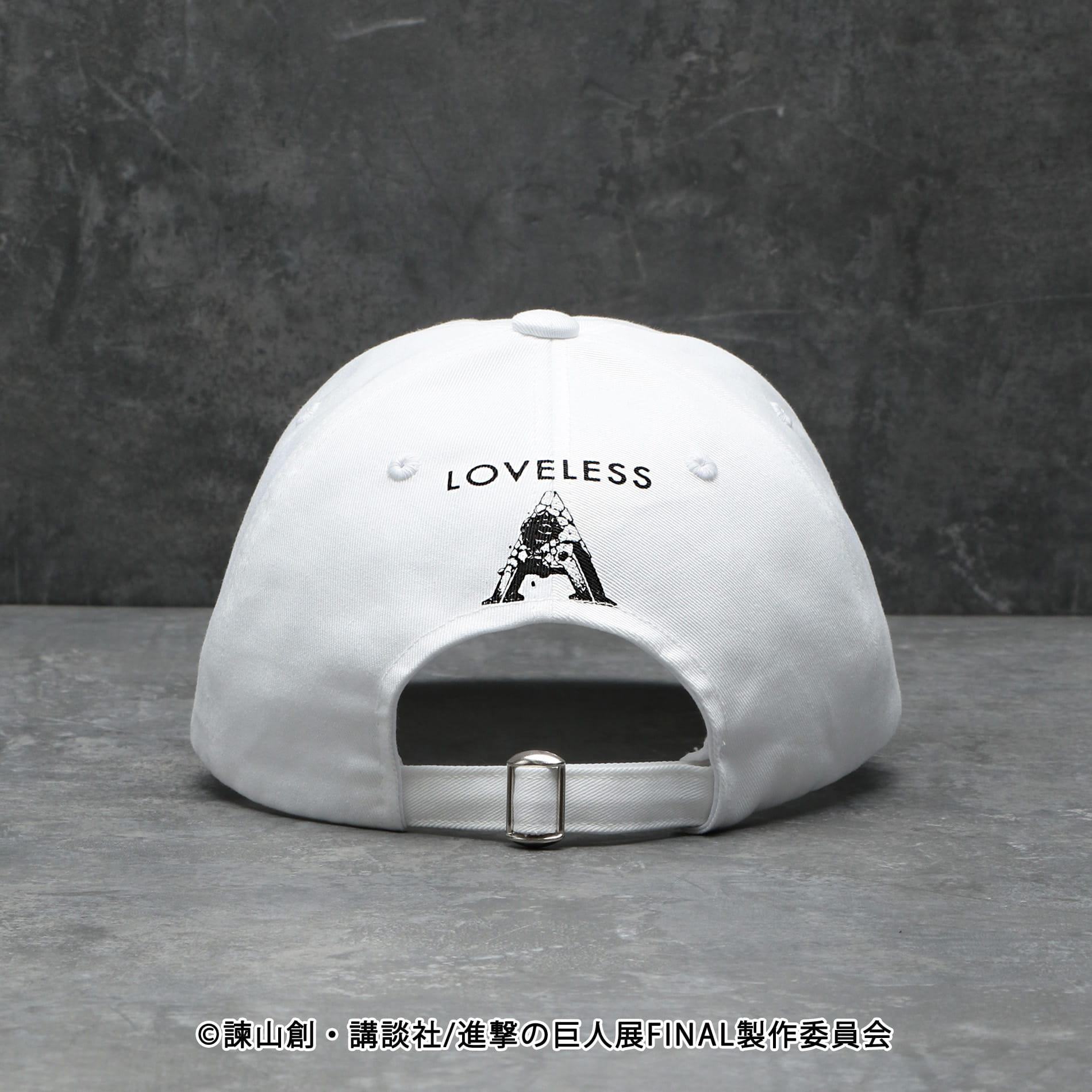 【LOVELESS×進撃の巨人】アルミン・アルレルト コラボ キャップ