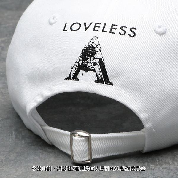 【LOVELESS×進撃の巨人】ミカサ・アッカーマン コラボ キャップ