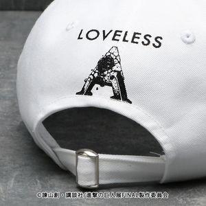 【LOVELESS×進撃の巨人】エルヴィン・スミス コラボ キャップ