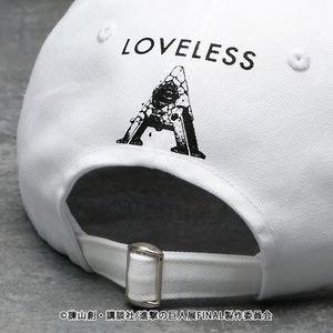 【LOVELESS×進撃の巨人】リヴァイ コラボ キャップ
