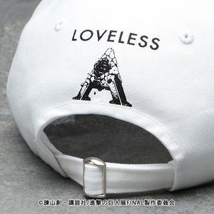 【LOVELESS×進撃の巨人】ハンジ・ゾエ コラボ キャップ