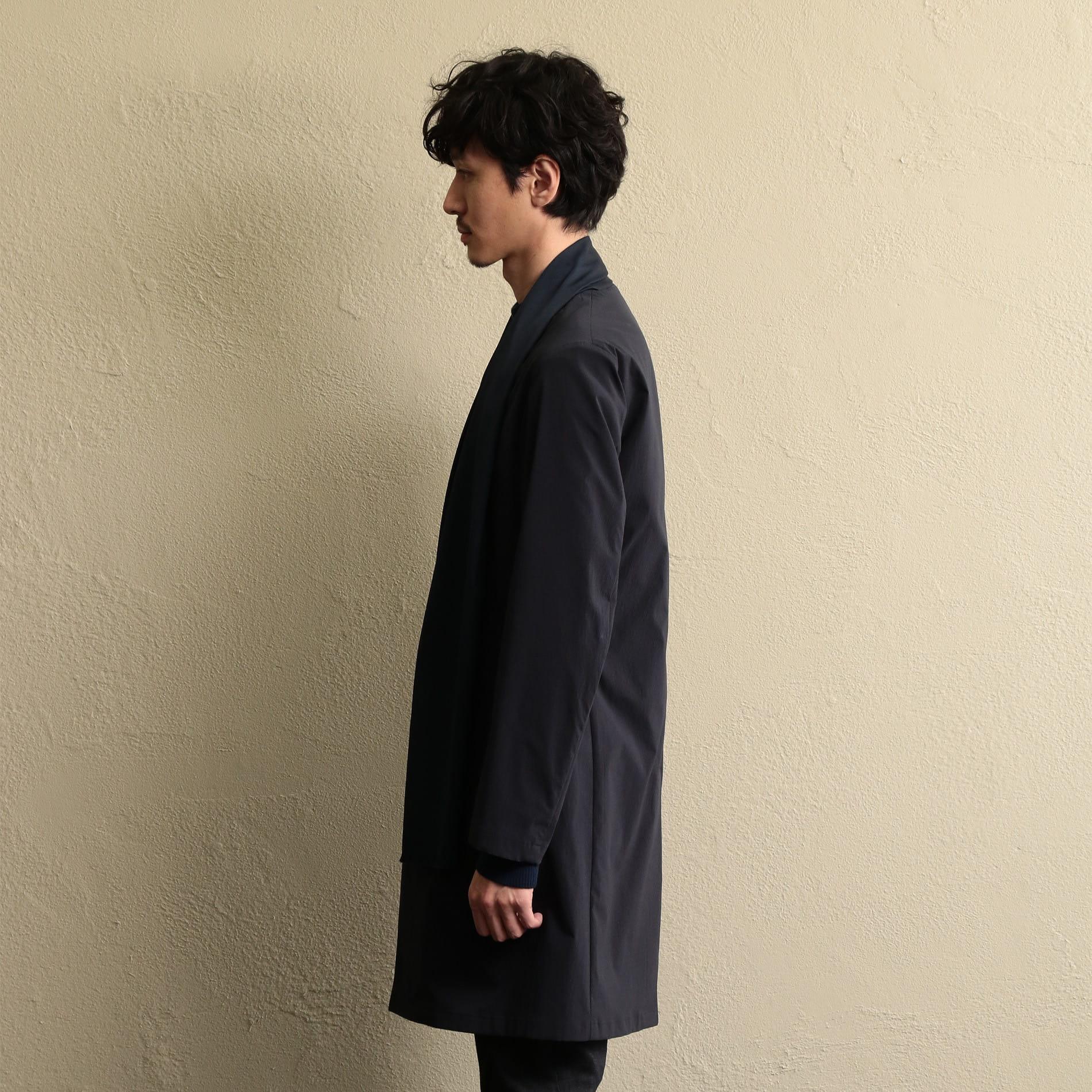 【LF】MEN デタッチャブルボウカラーコート
