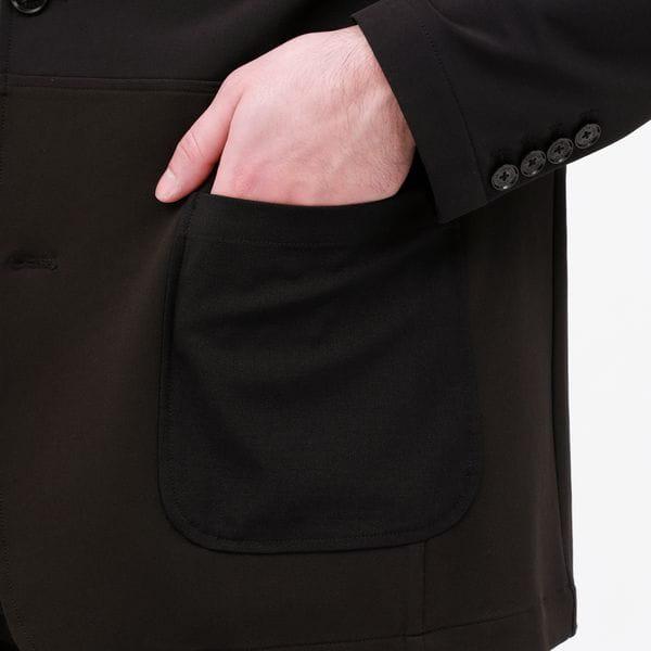 パッチワーク パッカブル ジャケット