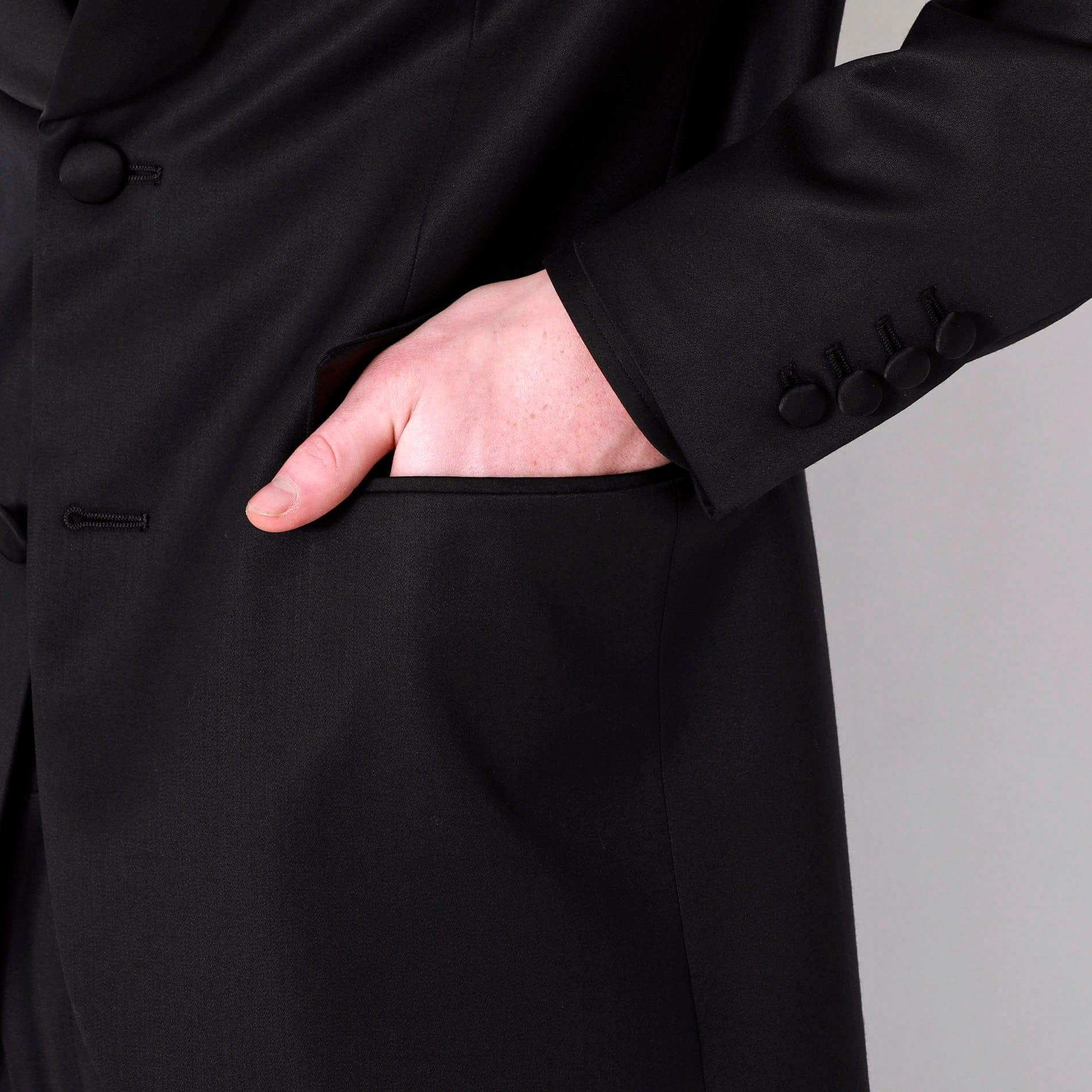 スタッズタキシードジャケット