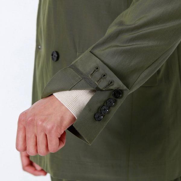 オーバーサイズ ダブルライトジャケット