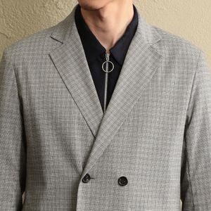 【LF】MEN マイクログレンチェックジャケット