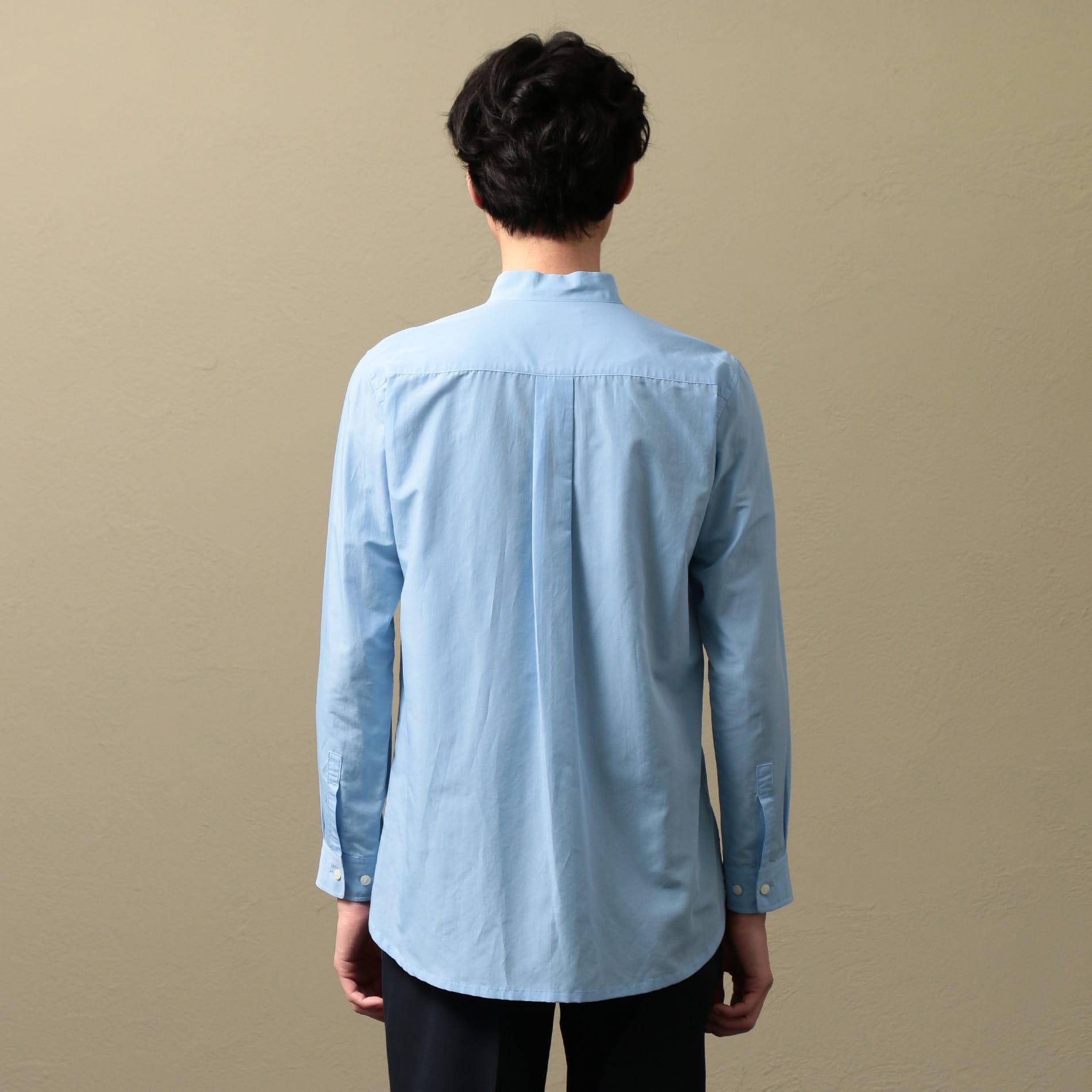 〈タイムセール〉【LF】MEN バンドカラーシャツアウター