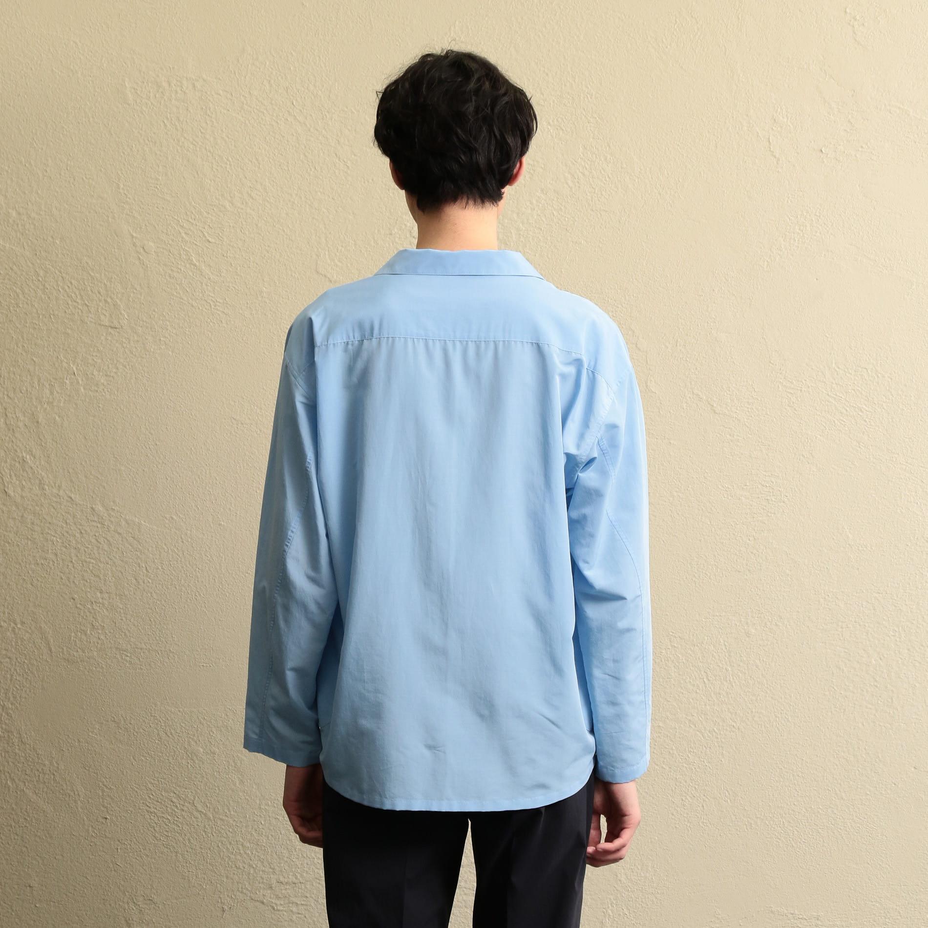 【LF】MEN オープンカラーシャツアウター