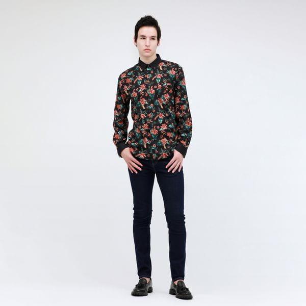 ボタニカルシャツ