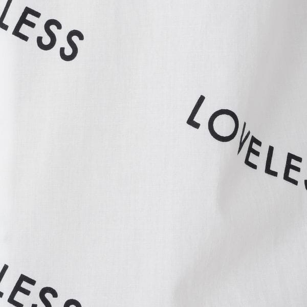LOVELESSロゴ シャツ