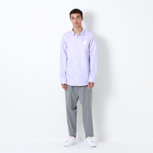 Safari ラブスカル コットンリネンシャツ