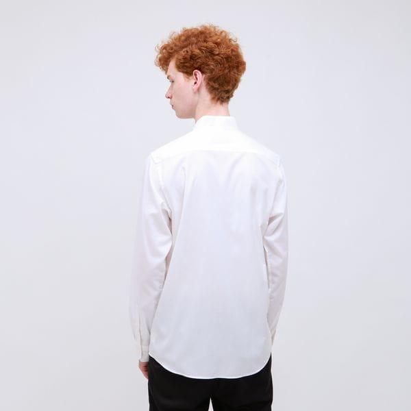 ウィングカラー シャツ