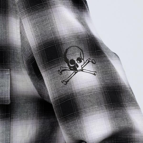 【Safari5月号掲載】アームスカル オンブレーチェックシャツ