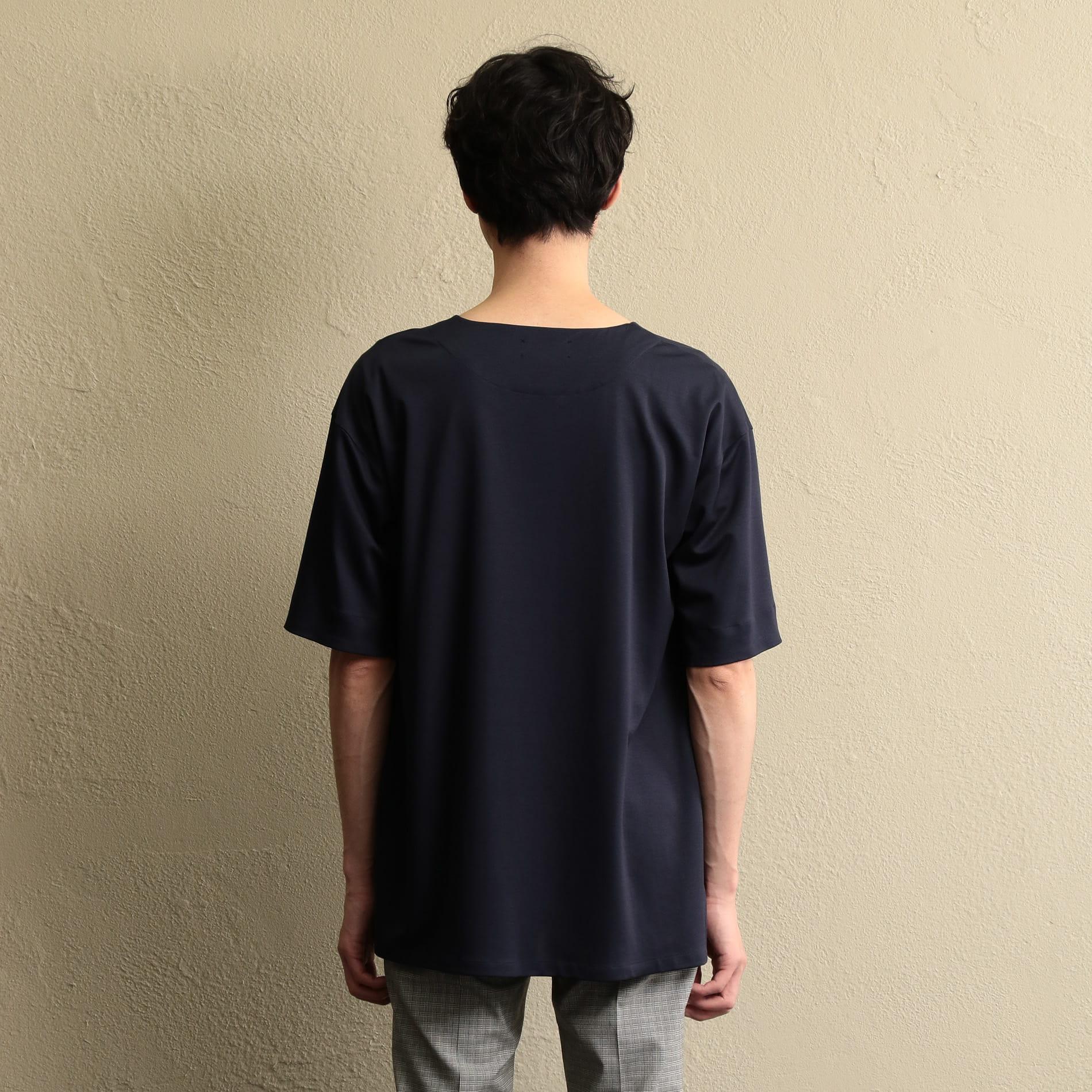【LF】MEN カットソーポンチクルーネックシャツ