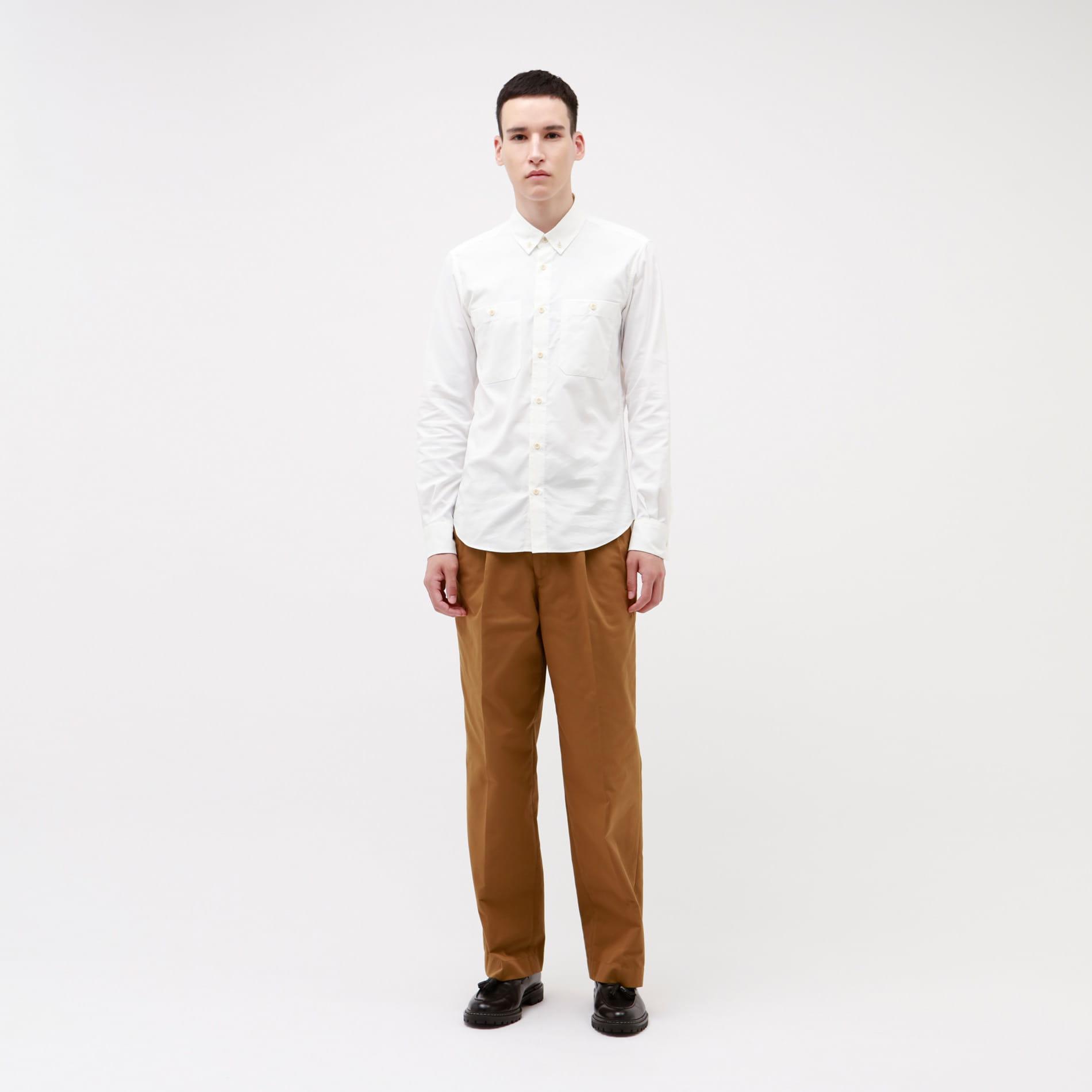 【予約販売】【LF】コーデュラ オックスフォード ボタンダウンシャツ