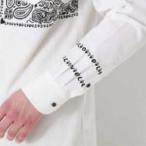 バンダナプリント シャツ