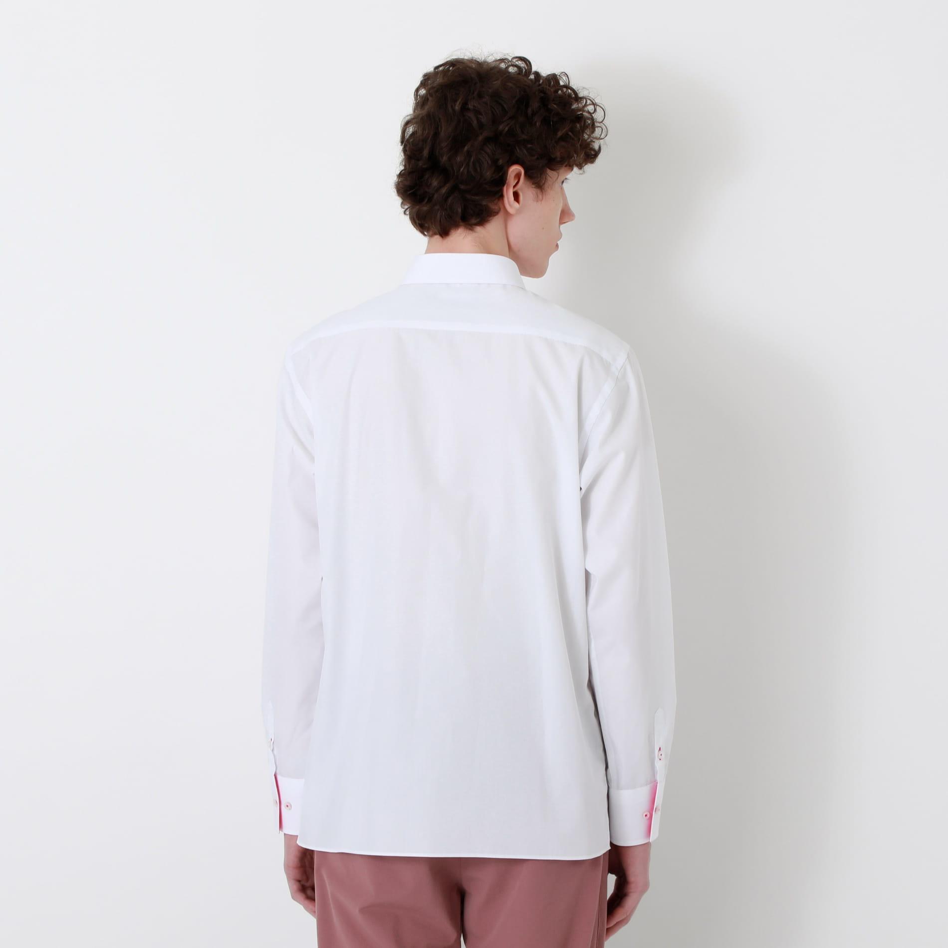カラーポケット オーバーサイズシャツ