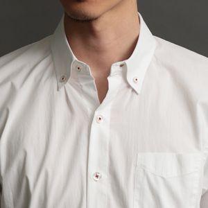 MEN ペイントスプラッシュハーフスリーブシャツ