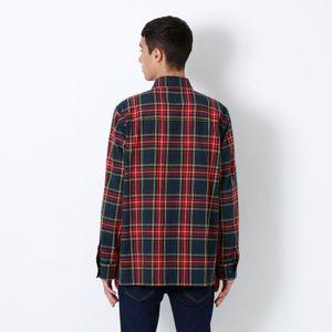 RAMPONIスタースタッズ アームスカルチェックシャツ