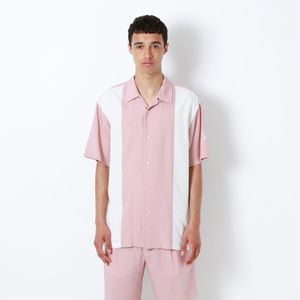アームスカル サマー オープンカラーシャツ