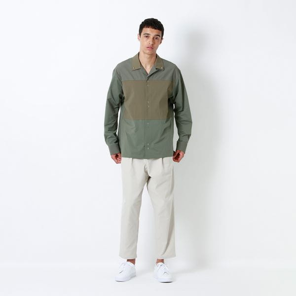 RAMPONIスタッズブロッキングシャツ