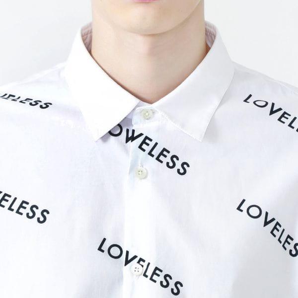 ラブレスロゴシャツ