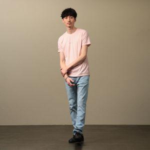 MEN ポリクレストロゴクルーネックTシャツ