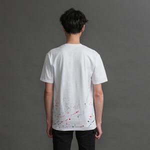 MEN ペイントスプラッシュTシャツ