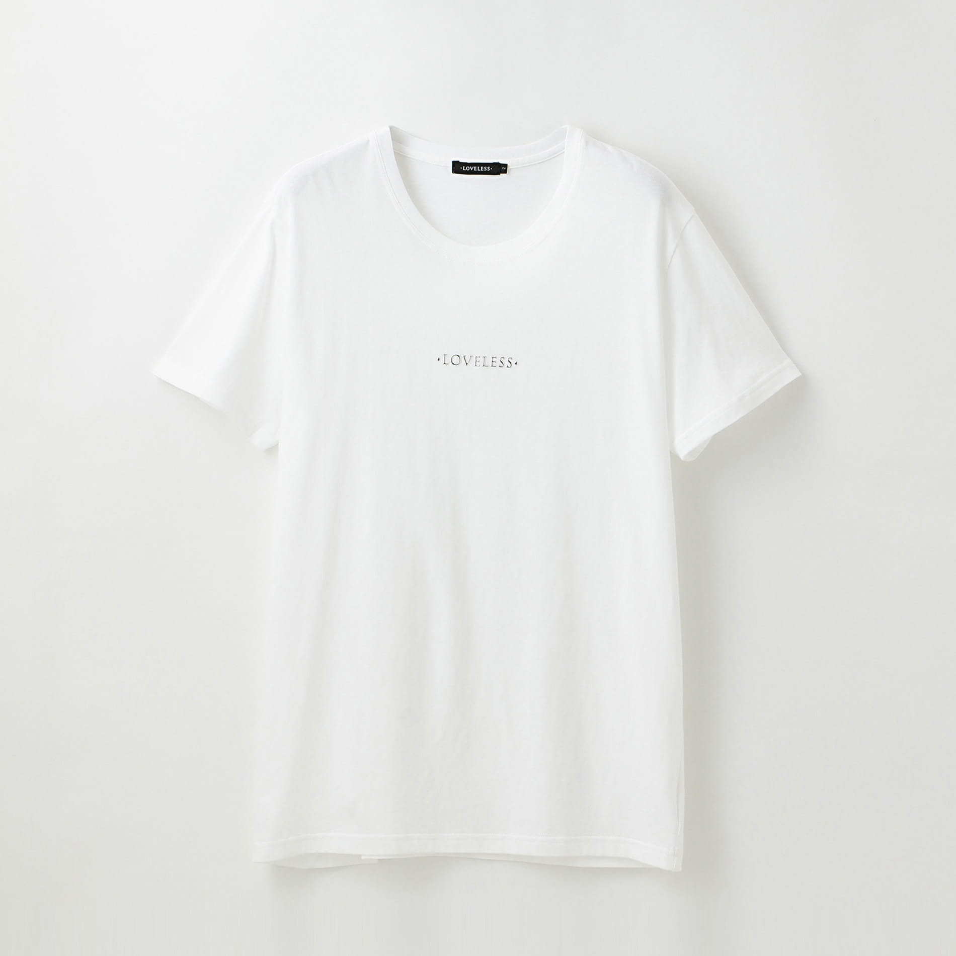 〈タイムセール〉ポリクレスト ロゴ クルーネックT