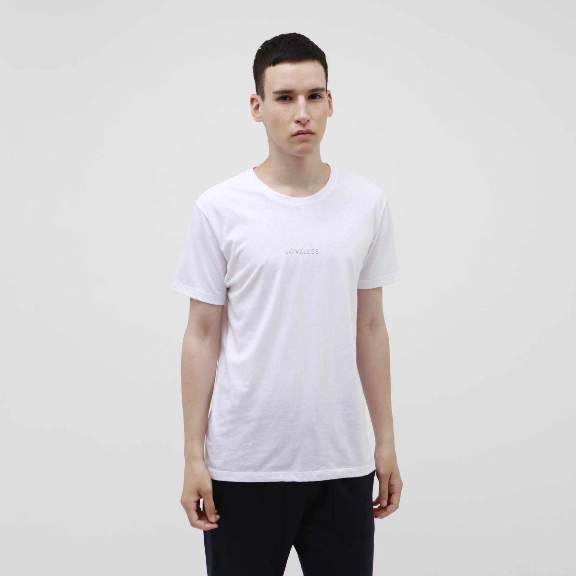 ポリクレスト ロゴ クルーネックTシャツ