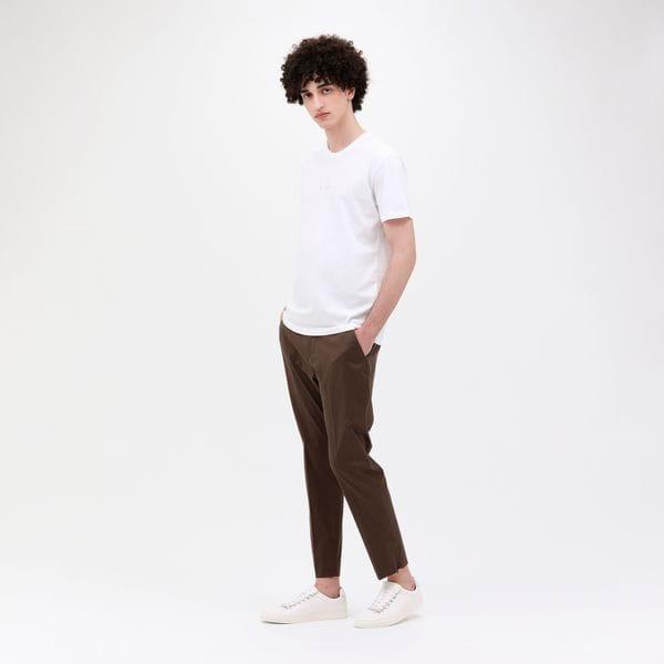 【Safari5月号掲載】ポリクレスト ロゴ クルーネックT