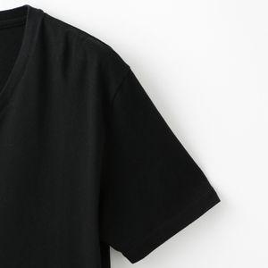 〈タイムセール〉ポリクレスト ロゴ VネックT