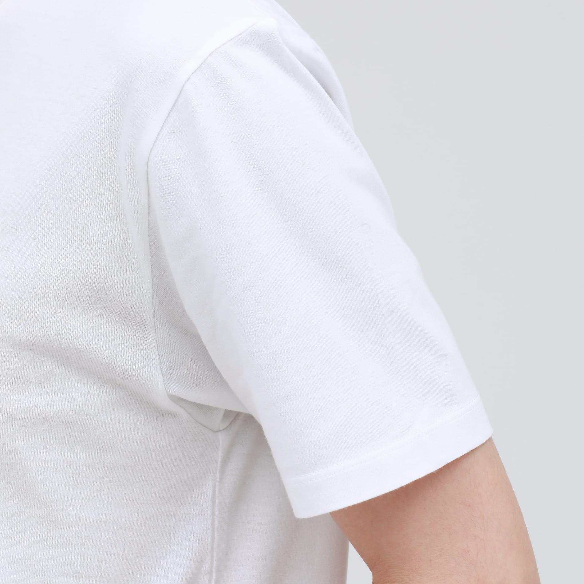ポリクレスト ロゴ VネックT