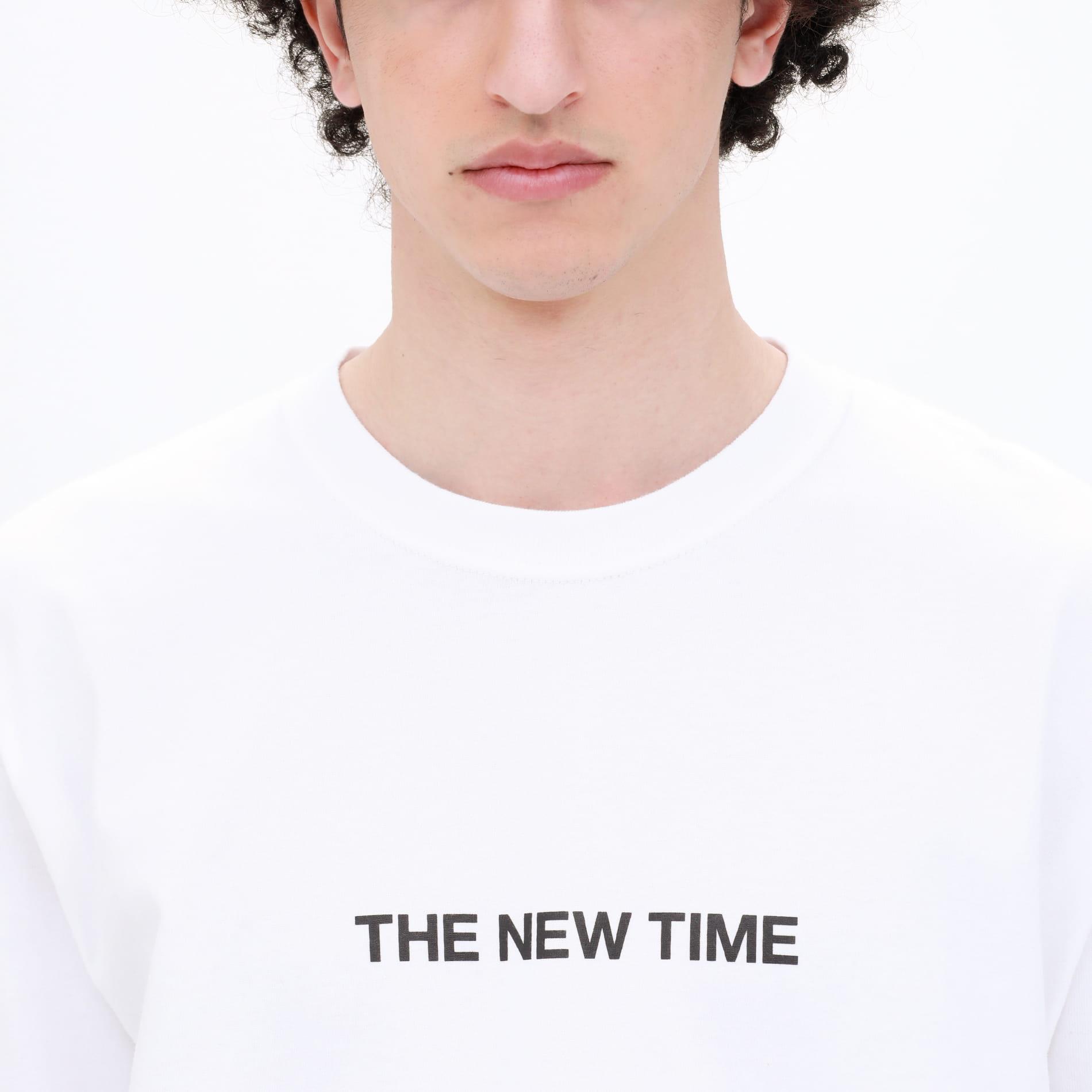 【Safari5月号掲載】THE NEW TIME ロゴロンT