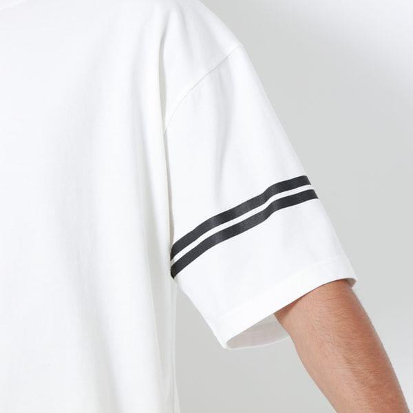 ラウンドバックロゴTシャツ