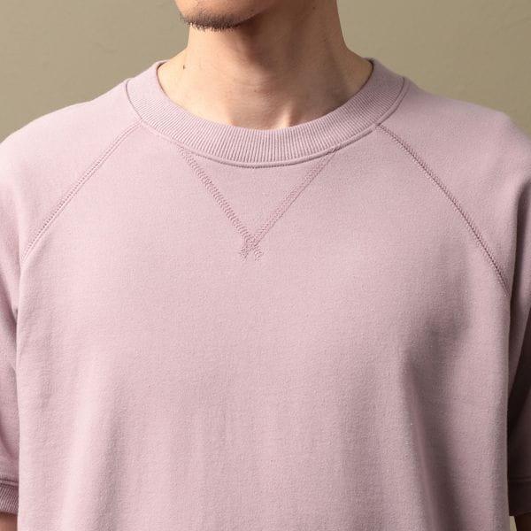 MEN バックパイルスウェットTシャツ