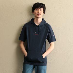【Champion×LOVELESS】MEN 別注Tシャツパーカー
