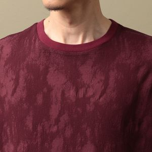 〈タイムセール〉【LF】MEN クルーネックコンビネーションTシャツ