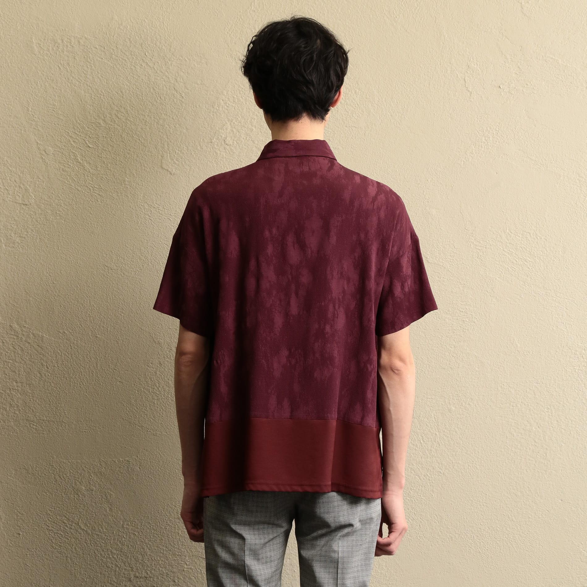 【LF】MEN コンビネーションポロシャツ