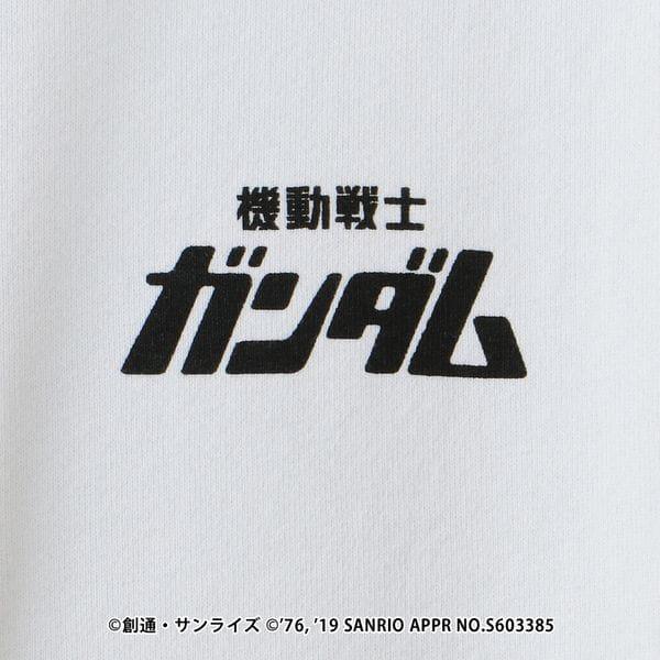 【LOVELESS×機動戦士ガンダム】ガンダムステッカーロゴコラボフーディ