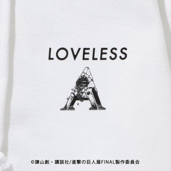 【LOVELESS×進撃の巨人】エレン・イェーガー コラボ フーディー