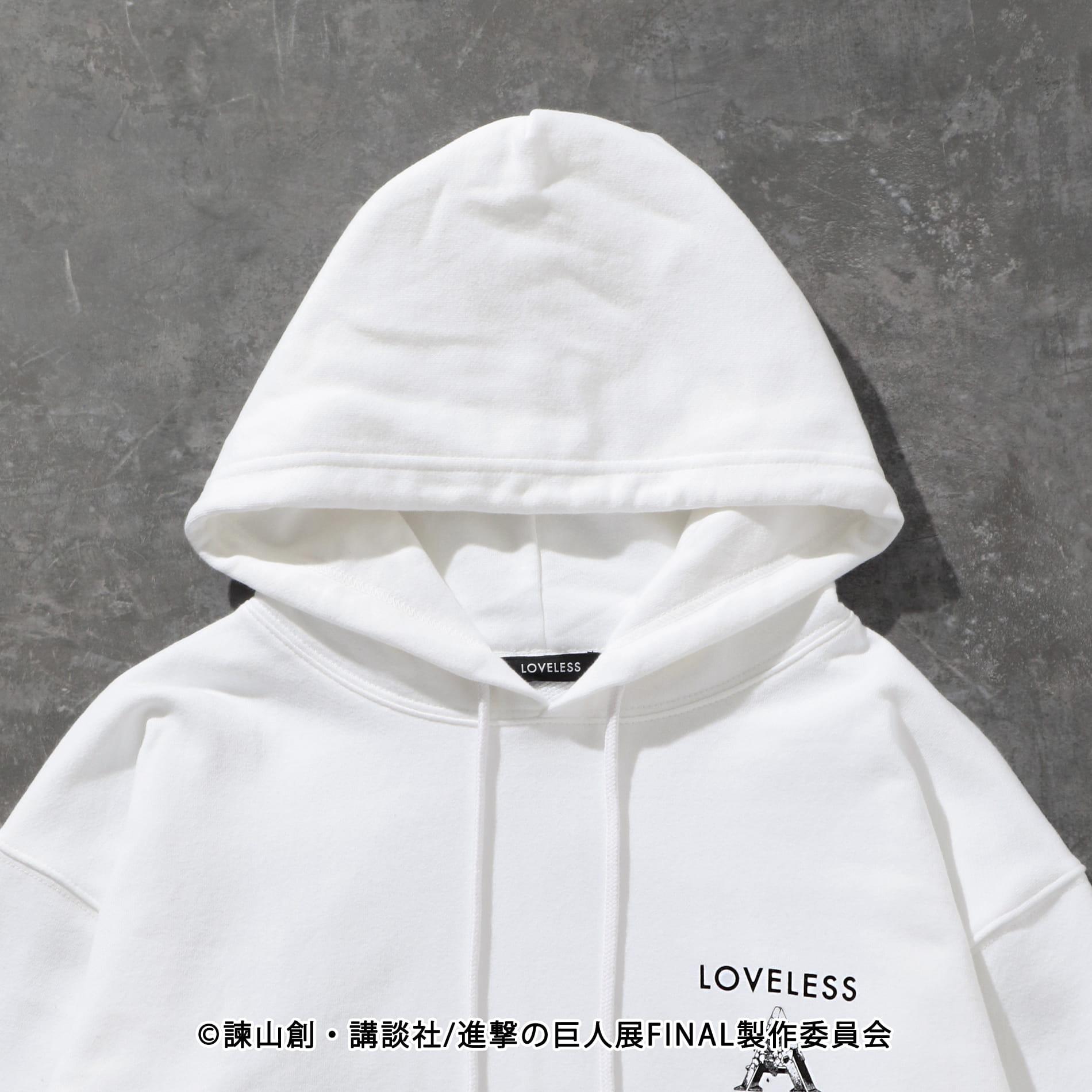【LOVELESS×進撃の巨人】ミカサ・アッカーマン コラボ フーディー