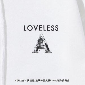 【LOVELESS×進撃の巨人】エルヴィン・スミス コラボ フーディー