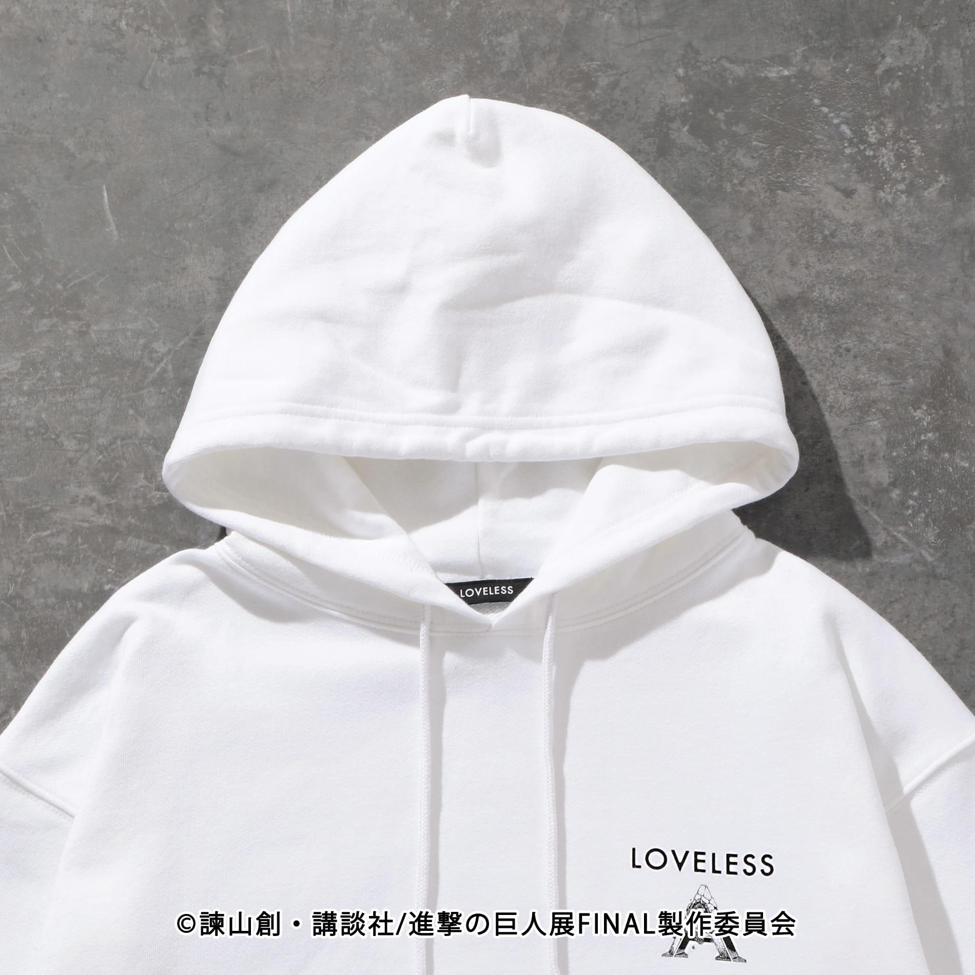 【LOVELESS×進撃の巨人】リヴァイ コラボ フーディー