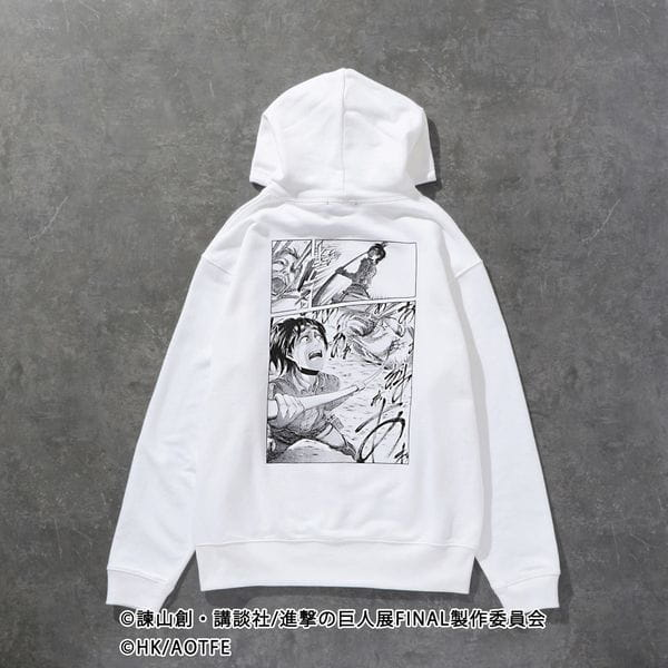 【LOVELESS×進撃の巨人】ハンジ・ゾエ コラボ フーディー