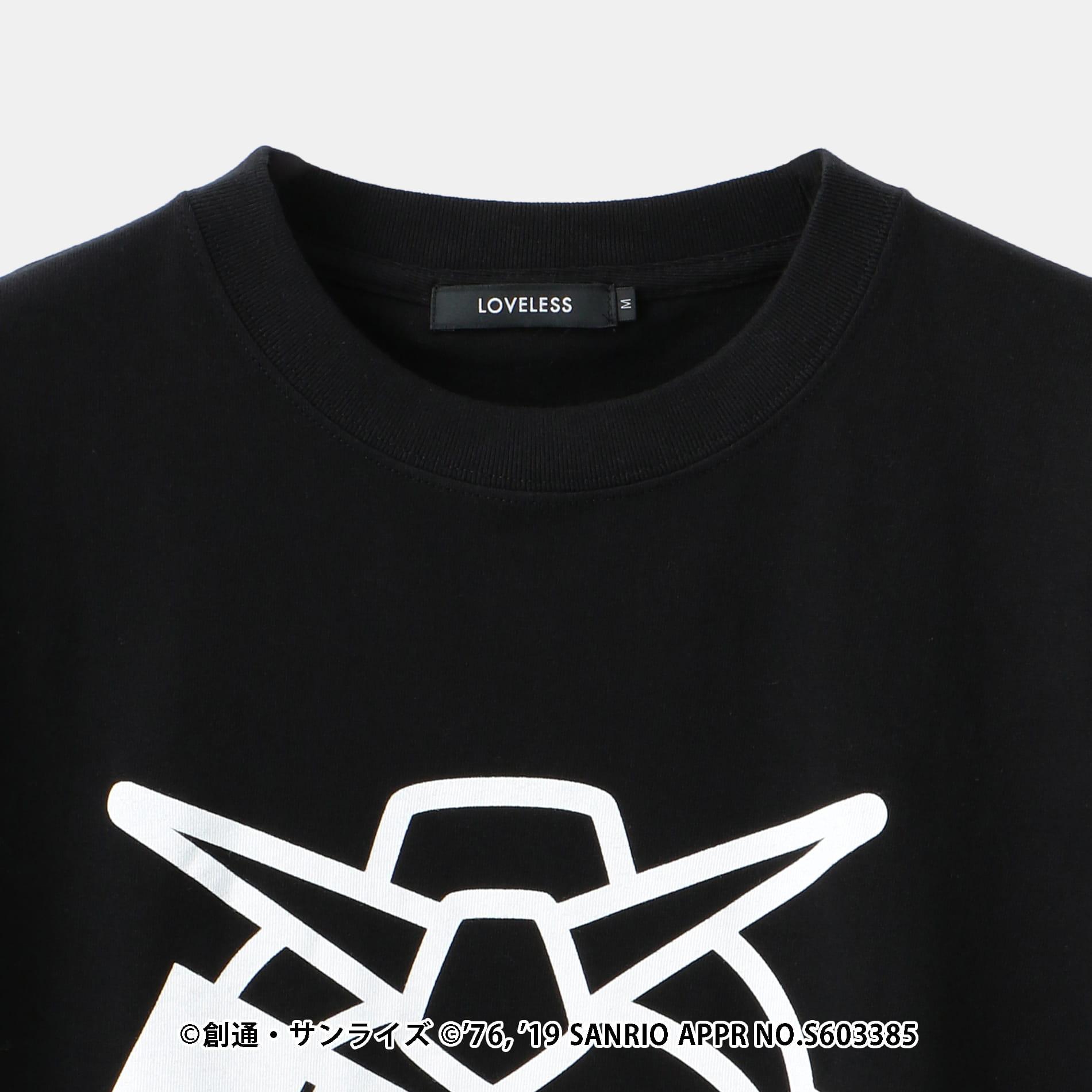 【LOVELESS×機動戦士ガンダム】ガンダムステッカーロゴコラボTシャツ
